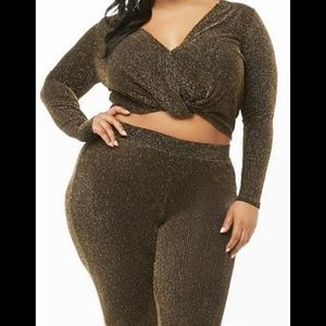 Plus size  2 piece outfit